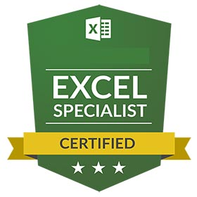 CERTIFICATION  MOS EXCEL
